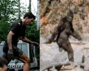 Jan Rossiter or Sasquatch - the similarities are alarming.