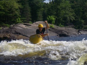 I even managed to get a day of whitewater paddling in on the Madawaska River on my way home! (Photo: Dan Moser)